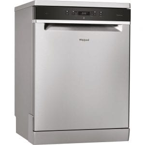WFC3C26X AUS - Whirlpool Stainless Steel Freestanding Dishwasher
