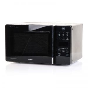 Whirlpool CrispFry Microwave & Grill in Black