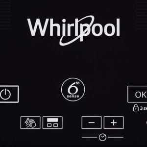 SMO654 - Whirlpool 65cm Flex-Maxi Induction Cooktop - Touch Controls
